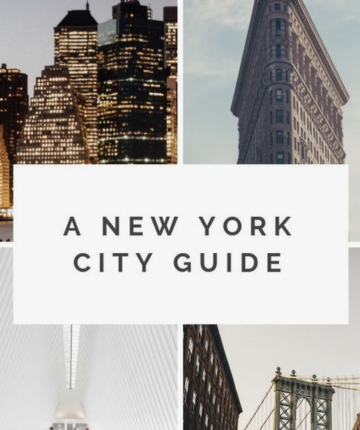 New York City Guide (NYFW Inspired!)