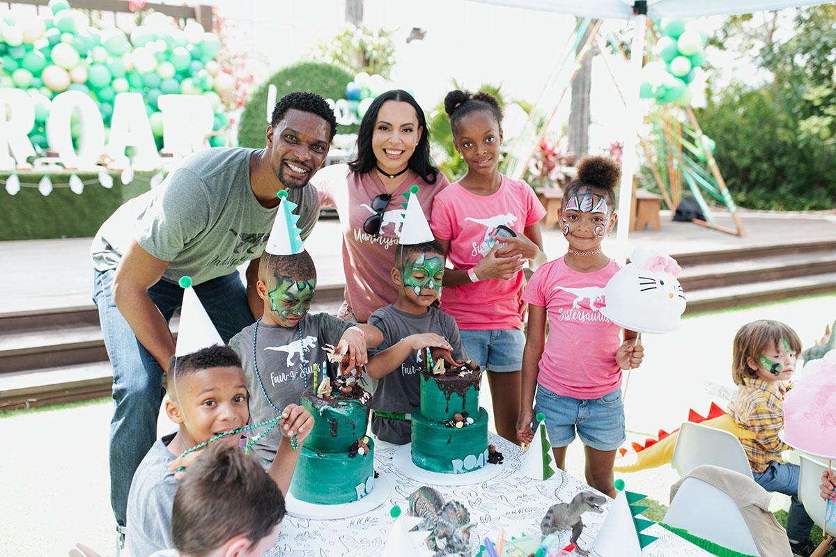 Adrienne Bosh Twins Birthday Party
