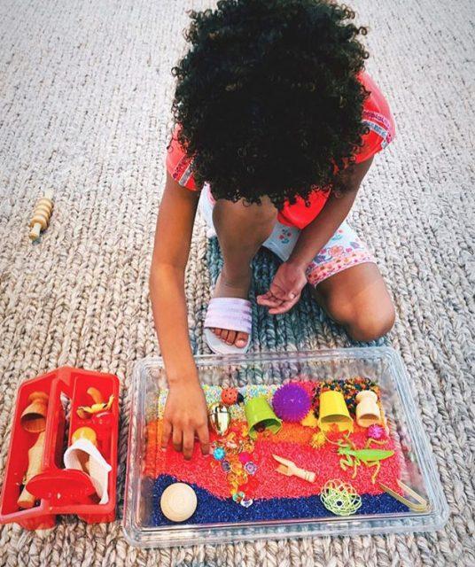 sensory play homeschool tips